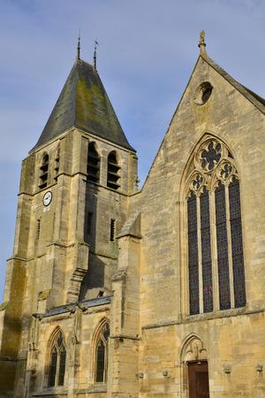 collegiate: France, the historical collegiate church of Ecouis