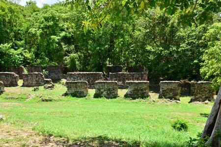martinique: Martinique, the picturesque Dubus  Stock Photo