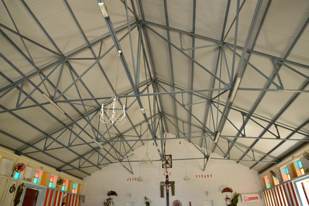 martinique: Martinique, the picturesque church of Tartane in West Indies Editorial