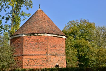 bois: France, the picturesque pigeon house of Bois Guilbert in Normandie