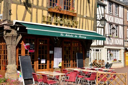 ry: France, a picturesque restaurant in the city of Ry Seine Maritime