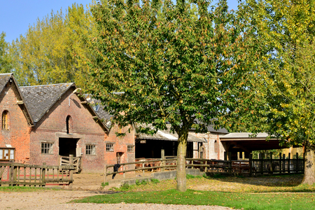 bois: France, the picturesque poney club of Bois Guilbert in Normandie