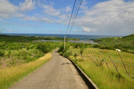 le cap: Martinica, la tapa pintoresca Macre de Le Marinin de las Indias Occidentales
