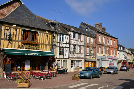ry: France, the picturesque city of Ry Seine Maritime Editorial