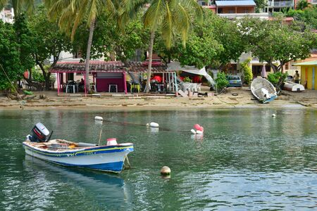 luce: Martinique, the picturesque city of Sainte Luce in West Indies Stock Photo