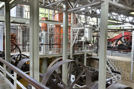 clement: Martinique, distillery of Habitation Clement in Le Francois in West Indies