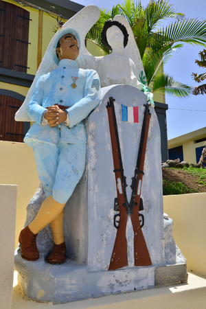 le: Martinique, the picturesque war memorial of Le Lorrain in West Indies Editorial