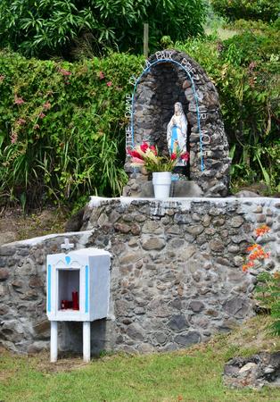 oratoria: Martinique, an old oratory in Le diamant in West Indies
