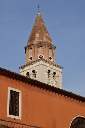 balkan: Croatia, the picturesque city of Zadar in Balkan Stock Photo