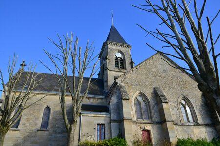 ile de france: Ile de France, the picturesque church of Fremainville
