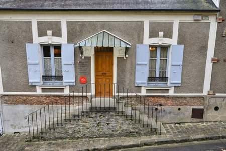 ravel: Ile de France, Maurice Ravel house in the city of Montfort L Amaury