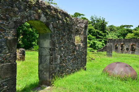 marie: Martinique, Habitation Fonds Saint Jacques in Sainte Marie