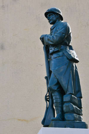 ile de france: Ile de France, the picturesque war memorial of Sailly Editorial