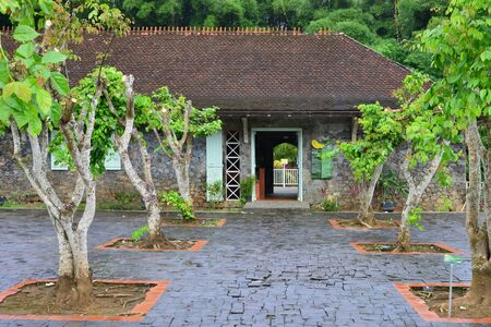 indies: Martinique; the banana museum of Sainte Marie in West Indies