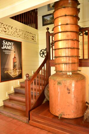 marie: Martinique, the St James distillery of Sainte Marie in West Indies