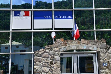 pierre: Saint Pierre, Martinique, France - august 30 2015 : the prefecture