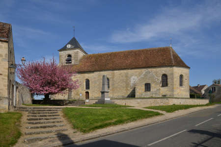 picturesque: The picturesque church in spring
