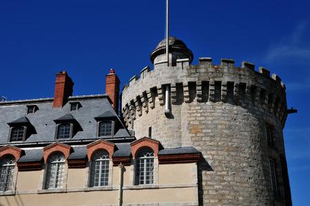 monument historical monument: Rambouillet, France - mai 6 2016 : the royal castle