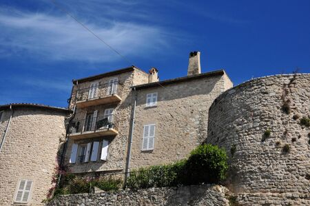 maritimes: the picturesque old city in spring, Antibes, France
