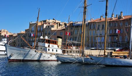 tropez: the picturesque port, Saint Tropez, France