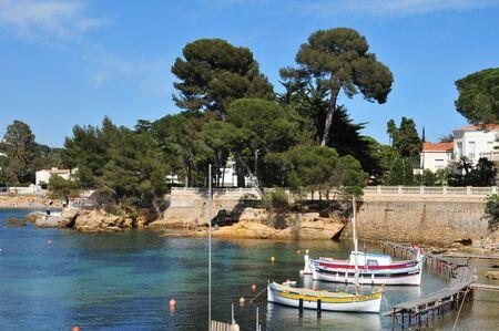 april 15: Antibes, France - april 15 2016 : the seaside of Juan les Pins