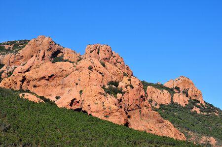 massif: Saint Raphael, France   the Esterel Massif