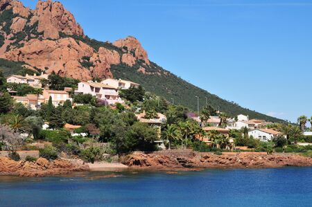 Saint Raphael, Francia Massiccio dell'Esterel