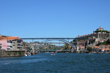 douro: Porto, Portugal  bridge on Douro river