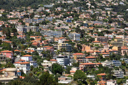 villefranche sur mer: Villefranche sur Mer, France - old and modern building