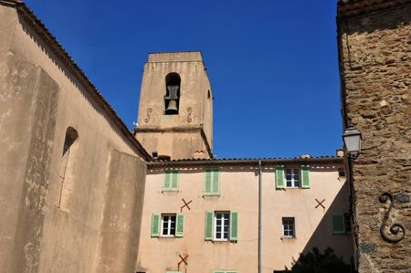 picturesque: Gassin, France - the picturesque church