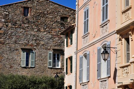 saint tropez: Saint Tropez; France - the picturesque old city in spring