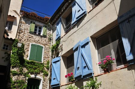 picturesque: Grimaud, France - the picturesque historical village