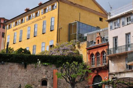touristy: Grasse, France - april 17 2016 : the touristy city center Editorial
