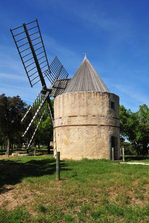 wind mill: Ramatuelle, France - the wind mill of Paillas