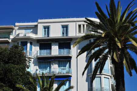 nice france: the Promenade des Anglais in Nice, France