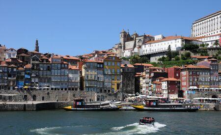 douro: Porto, Portugal - july 10 2010 : bridge on Douro river