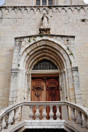 maritimes: the Notre Dame cathedral in Grasse, France
