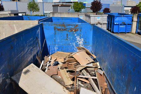 dumps: Hauts de Seine, France - may 3 2016 : a recycling centre