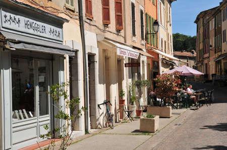 garde: La Garde Freinet, France - april 16 2016 : the picturesque village in spring Editorial