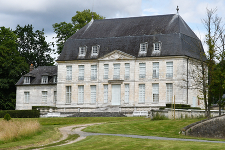 pierre: Jumieges, France - june 22 2016 : the Saint Pierre abbey Editorial