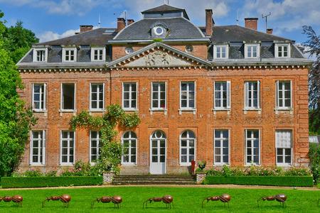 bois: Bois Guilbert, France - june 23 2016 : the classical castle