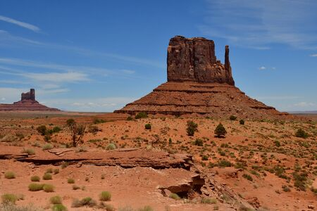 USA - july 8 2016 : the Monument Valley