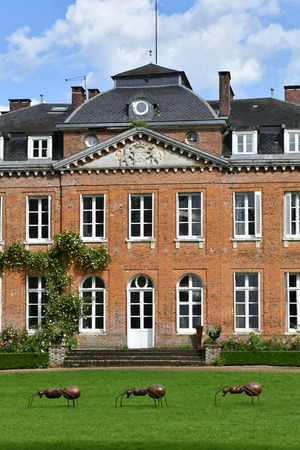 bois: Bois Guilbert, France - june 23 2016 : the classical castle