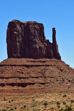 touristy: USA - july 8 2016 : the Monument Valley