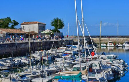 're: La Flotte, France - september 25 2016 : the picturesque port