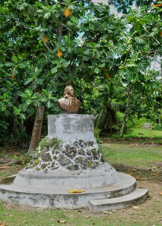 Guadeloupe, Petit Canal, France - may 10 2010 : the Louis Delgres statue Editorial
