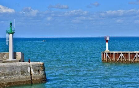 're: Saint Martin de Re, France - september 25 2016 : the seaside Editorial