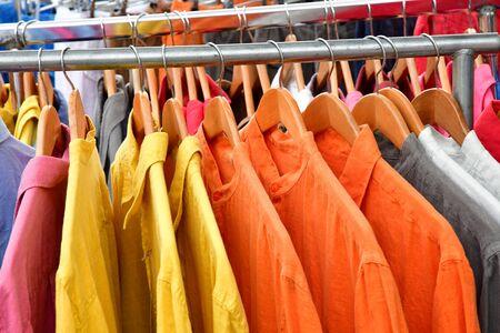 're: La Flotte, France - september 27 2016 : shirts at market