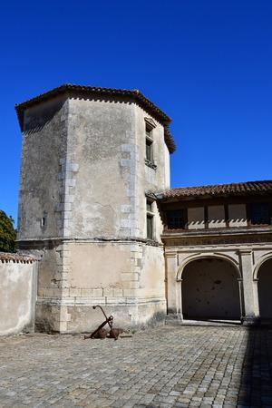 're: Saint Martin de Re, France - september 25 2016 : the picturesque Hotel de Clerjotte
