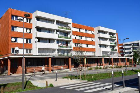 Les Mureaux, France - october 5 2016 : the Louis Bleriot street